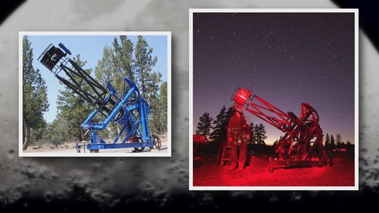 Massive stolen telescope back with Oregon family; deputies seek thief