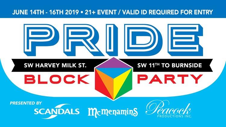 Pride block party