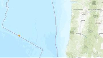 4.7 earthquake Wednesday morning off Oregon coast
