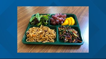 Portland Public Schools' yakisoba lunch voted one of the nation's best school meals