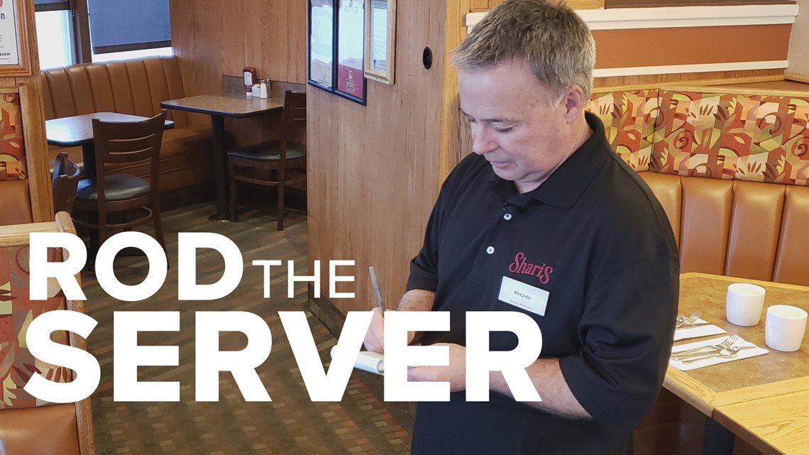 Rod on the Job: Server at Shari's Cafe & Pies
