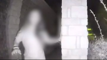 Mystery woman seen ringing doorbell identified after boyfriend found dead