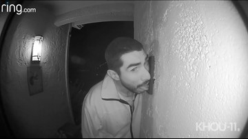 California man caught on video licking doorbell over and over for 3 hours