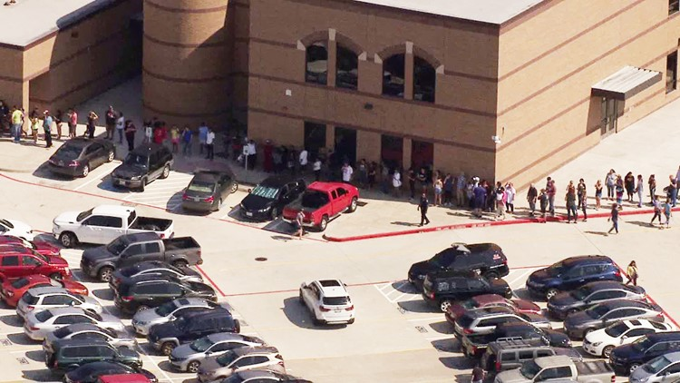 Former student with gun causes big scare at Texas high school