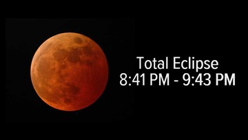 Portland total lunar eclipse forecast: Cloudy skies with hopes of seeing the show