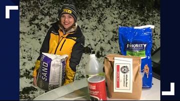 No salt, no problem: Alternatives to sidewalk salt during the snowstorm