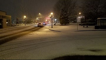 Snowfall, school closures in Western Washington after weekend windstorm