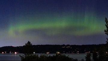 Some Washington residents treated to views of Northern Lights on Wednesday