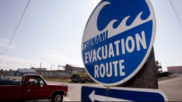 New tsunami evacuation maps released for Long Beach, Ilwaco, Seaview