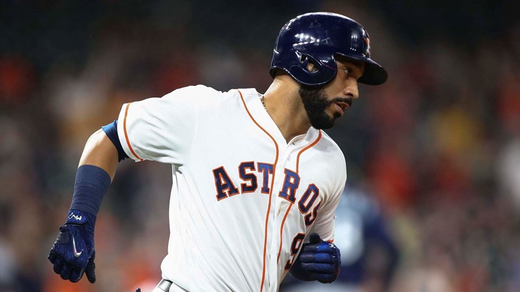 <p>Danny Valencia had two hits and drove in a run, the Mariners' only one in two games against the Astros.</p>