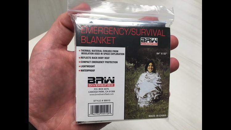 Emergency survival blanket