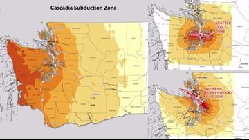 Why you should be prepared: 3 big earthquake threats in PNW