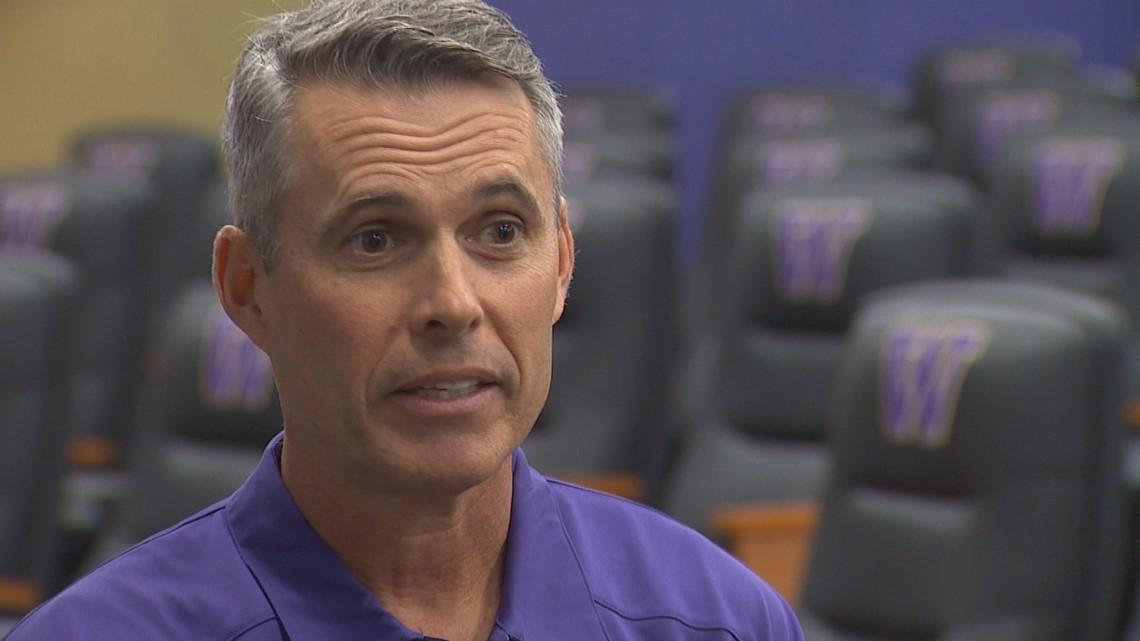 UW football coach Chris Petersen stepping down after six years