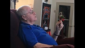 Veteran finds peace in service bird