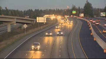 NOW OPEN: All lanes of SB I-5 near DuPont