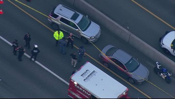 Motorcyclist in fatal road rage shooting on I-5 arrested and released