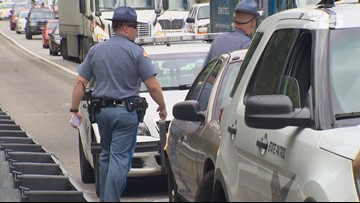 Statewide 'slow down, move over' emphasis patrols this weekend in Washington