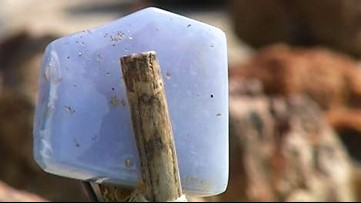 A rare stone that's only found in one Eastern Washington town: Where to hunt for Ellensburg Blues