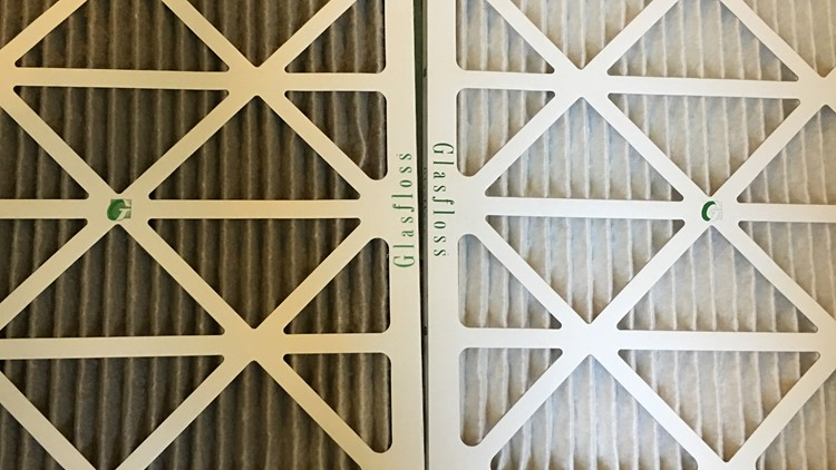 Used vs new air filter wildfire smoke