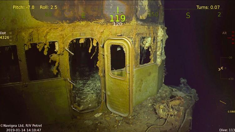 Paul Allen-backed vessel finds USS Wasp nearly 14,000 feet deep