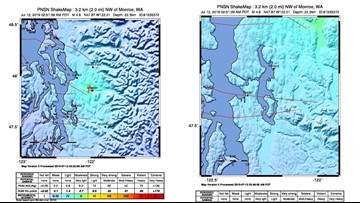 4.6 earthquake strikes north of Seattle