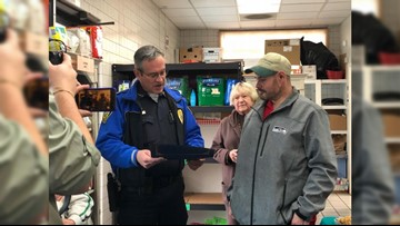 Homeless man returns $17,000 found outside Sumner food bank