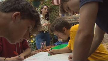 Students spend summer fighting for beloved teacher's future