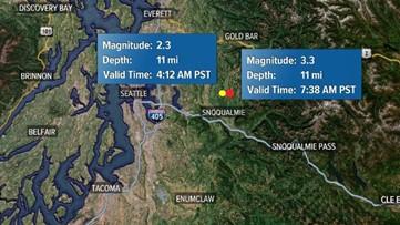 3.2 earthquake hits near Seattle area