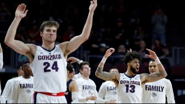 Gonzaga earns No. 1 seed in NCAA West Region