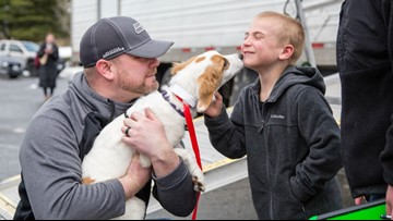7-year-old Washington boy recognized for saving 1,500 dogs