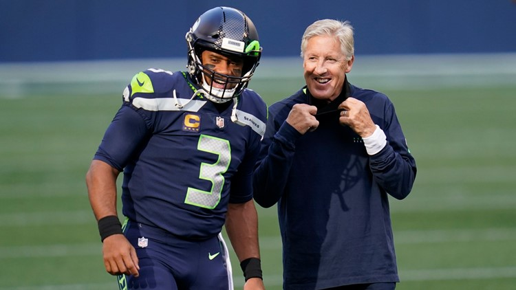 'Sometimes you've got to get coached up:' Pete Carroll apologizes for not wearing mask during game
