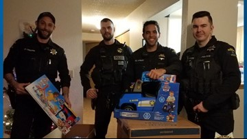 Deputies deliver Christmas gifts to family of toddler injured in Burien store crash