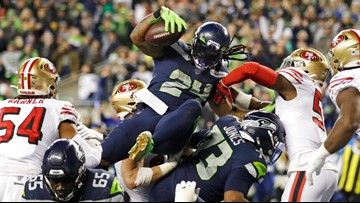 Game of inches: 49ers beat Seahawks 26-21 after wild finish