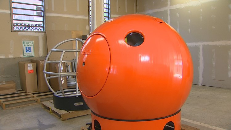 Buoyant tsunami pods offer protection after major earthquake