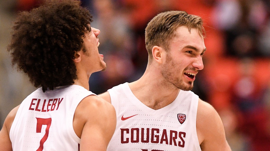 Elleby scores 25, Washington State surprises No. 8 Oregon