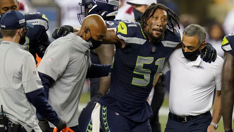 Seahawks lose Irvin and Blair to ACL injuries