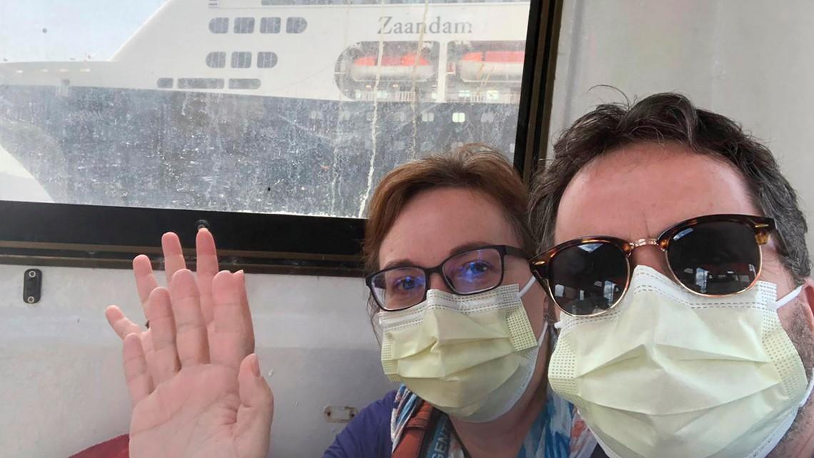 Seattle residents stranded at sea on cruise ships during coronavirus crisis