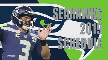 Seahawks 2019 schedule revealed