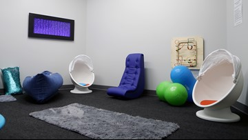 Seahawks open sensory room at CenturyLink Field