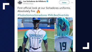 Hillsboro Hops to change name to 'Dreamers' for four games as part of nationwide initiative