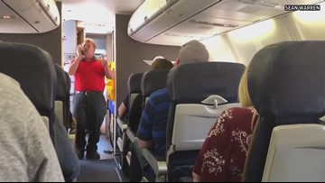 Southwest employee sings 'You Raise Me Up' to mom of fallen Arizona trooper during flight