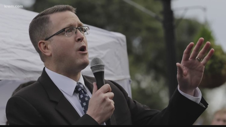 Rep. Matt Shea tied to Washington-based group training men for 'biblical warfare,' report says
