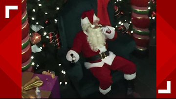 'Bad Santa' at downtown Spokane mall sparks online backlash