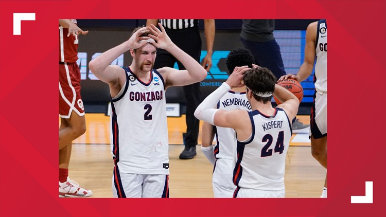 Gonzaga men's basketball advances to Sweet 16 with win over Oklahoma