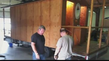 Spokane group developing mobile showers for homeless residents