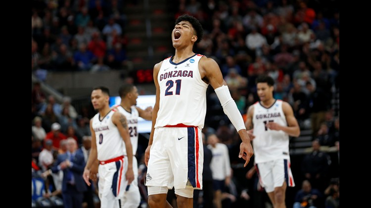 No drama: No. 1 Zags roll past Fairleigh Dickinson in NCAAs