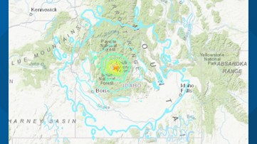 6.5 magnitude earthquake rattles Idaho, other parts of Northwest