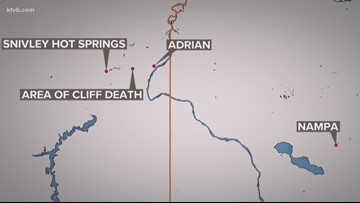 Idaho woman dies after falling off an Oregon cliff