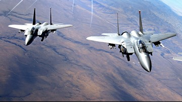 Fighter jets could fly lower in Idaho, Nevada and Oregon