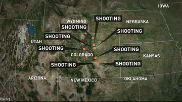 9 officer-involved shootings reported in Colorado over 8 days